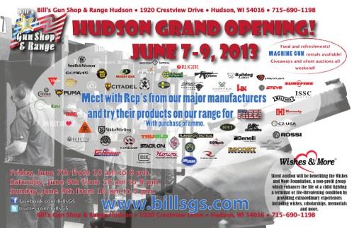 Bills Grand Opening
